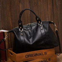 Outlet-Handtas Boston Classic Zwart
