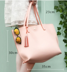 Shopper Light Tote Roze