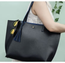Shopper Light Tote Zwart