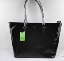 Shopper Luxe KS Glans Zwart