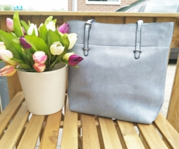 Shopper Retro Babyblue(|Nog1)